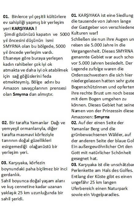 Fatih Belediyesi için tercüme ettiğimiz kitaptan Türkçe-Almanca tercüme örneği.